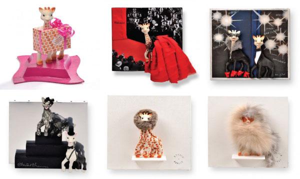 Sophie la girafe artworks