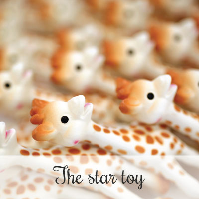 Star toy - Sophie la girafe is the darling of celebrity babies